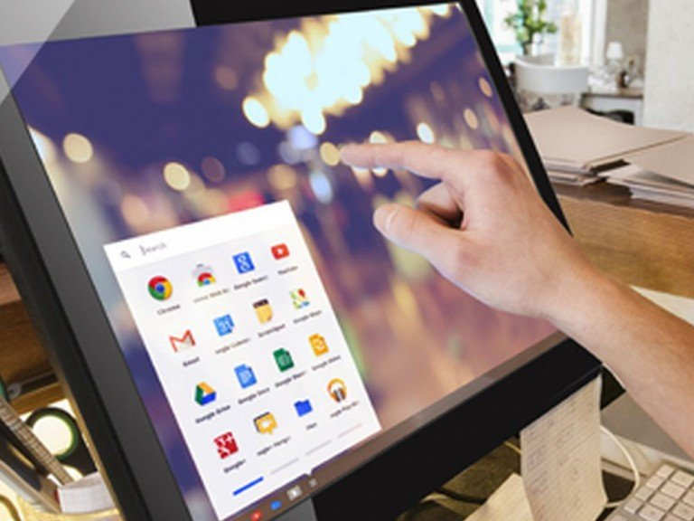 All-in-One Touch Display Chromebase Commercial am PoS (Foto: Aopen)