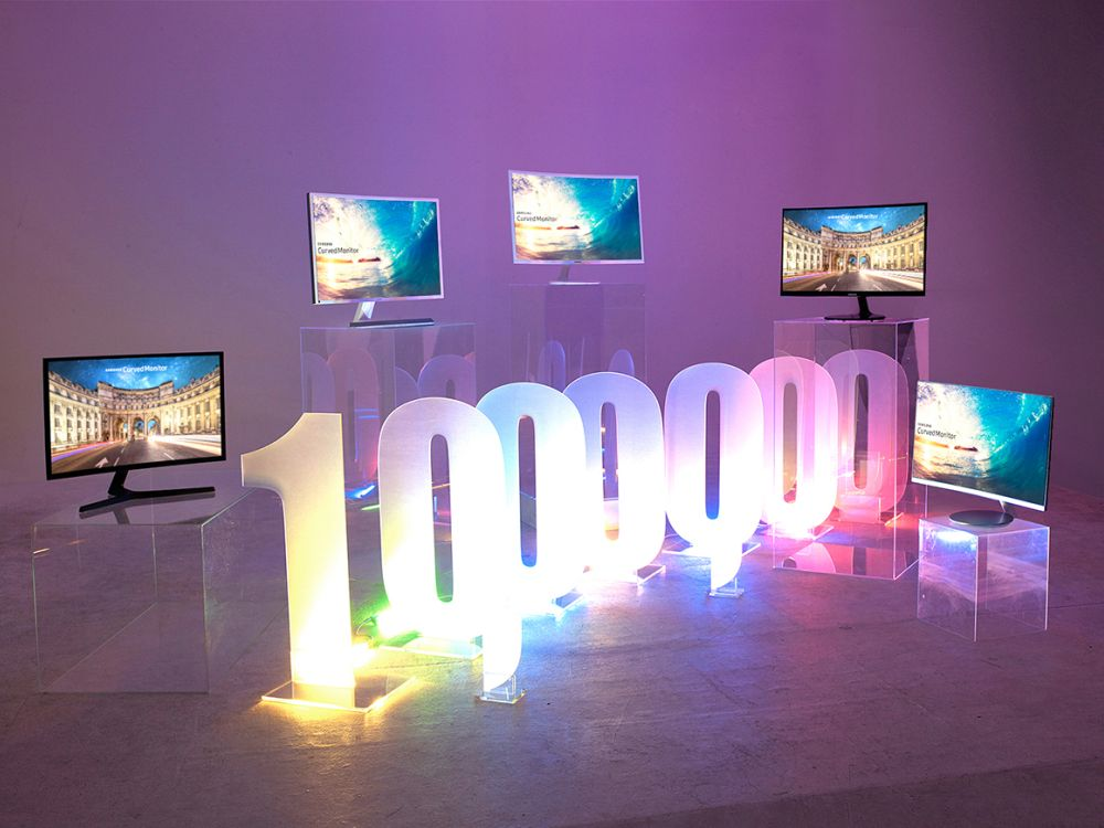 Aus ihnen entwickelte sich ein eigenes Biotop - Curved Computer Monitore (Foto: Samsung)