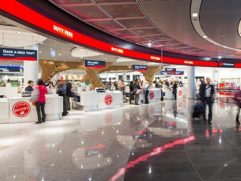 Duty Free Bereich am Airport Frankfurt (Foto: Fraport AG)
