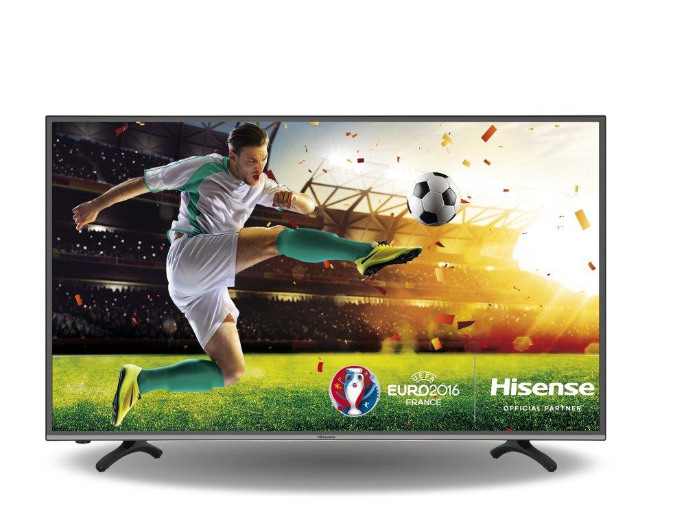 Hisense gehört zu den 10 Sponsoren der Fußball-EM 2016 in Frankreich (Foto: Hisense)