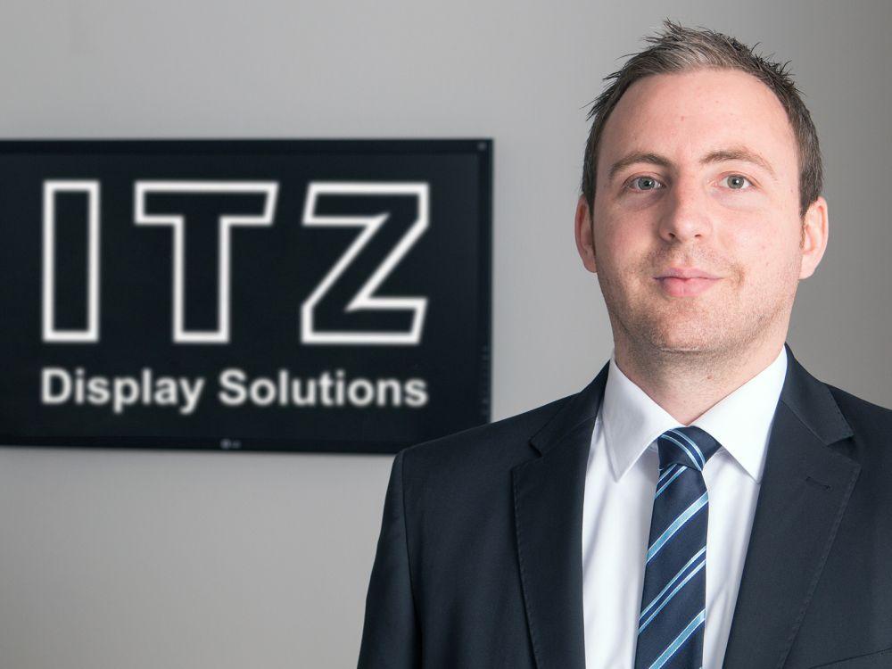 Jens Breiden ist neuer Head of Sales Hospitality Displays (Foto: ITZ Display Solutions)