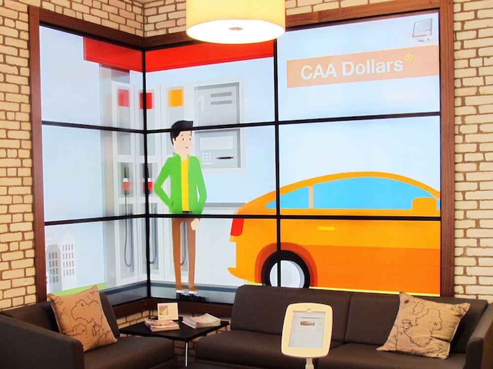 Mit ADFLOW erstellte Lösung für den Automobilcub CAA South Central Ontario (Foto: ADFLOW)