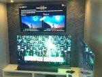 Mobiles Wohnzimmer mit Super-UHD TVs und OLED TVs (Foto: LG)