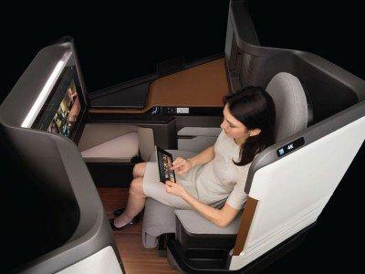 Neuer Waterfront Airline Seat (Foto: Panasonic Avionics)