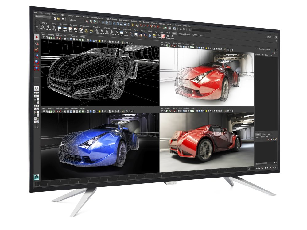 Neues UHD Modell in 43 Zoll - BDM4350UC (Foto: MMD Philips)