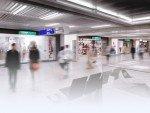 Reisende am Airport Frankfurt (Foto: Pyramid Computer)