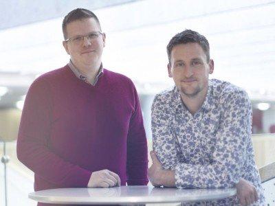 Rick Burgess (l.) und Alex Matthews (r.) leiten den Creative Hub JCDecaux Dynamic (Foto: JCDecaux)