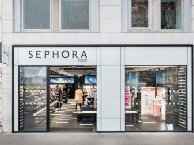 Sephora Flash - der neue Flagship kommt mit fast einem Zehntel der Fläche aus (Foto: Intangibles)
