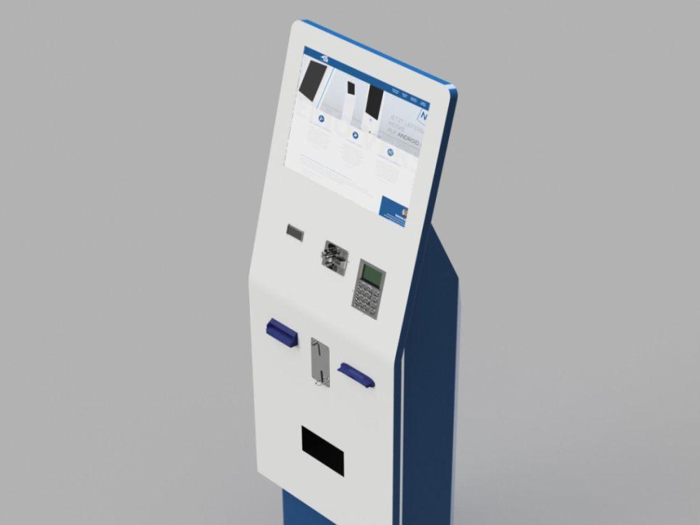 Zahlungssysteme ergänzen bei Kiosk Systems das Programm (Foto/ Rendering: Kiosk Solutions)