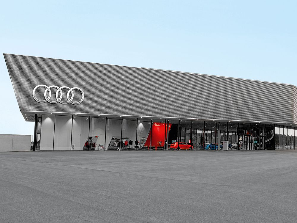 Audi driving experience center in Neuburg (Foto: Audi AG)