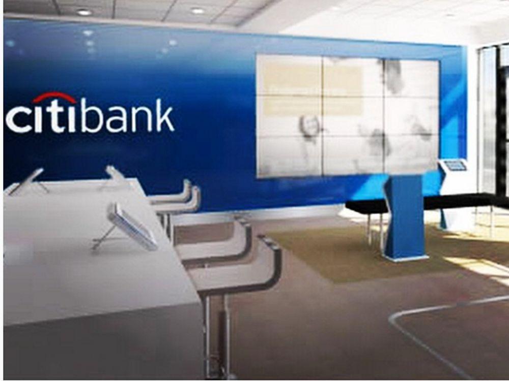 Bereits 2015 stellte Citibank für die USA diesen neuen Filialtypen vor (Foto: Citigroup)
