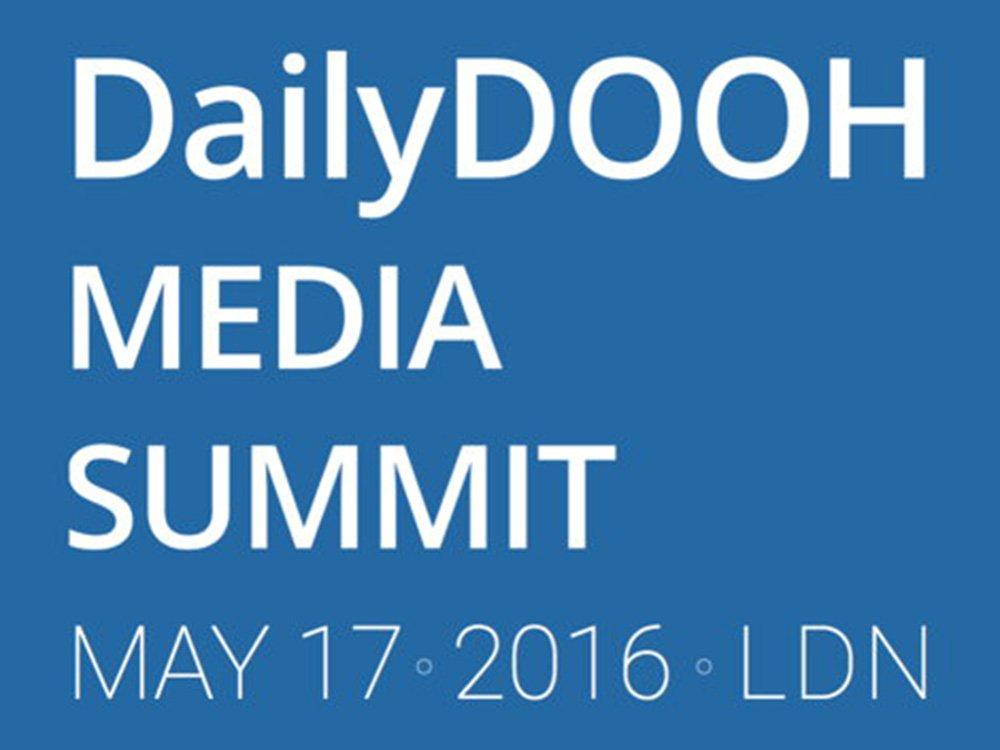 London Digital Signage Week und DailyDOOH Media Summit 2016 (Bild: DailyDOOH)