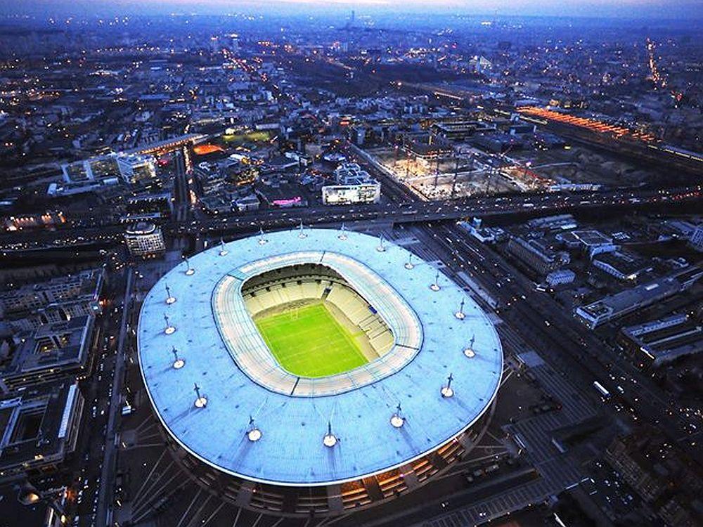 Das Stade de France aus der Vogelperspektive (Foto: Stade de France)