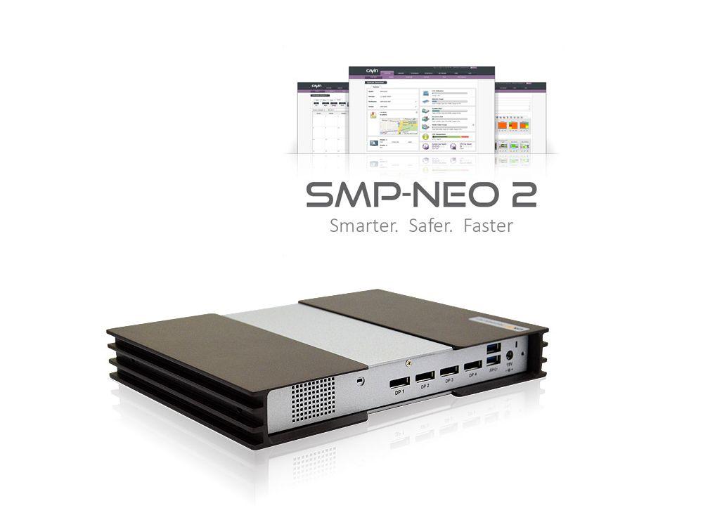 Der SMP-8000QD wird dem hier abgeildeten SMP-8000 einiges voras haben - auch die Software wird rundum erneuert (Foto / Grafik: Cayin Technology)