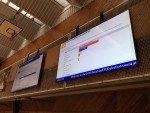DooH Screens in Bradford informieren über Wahlen und Abstimmungen (Foto: Digital Media Systems)