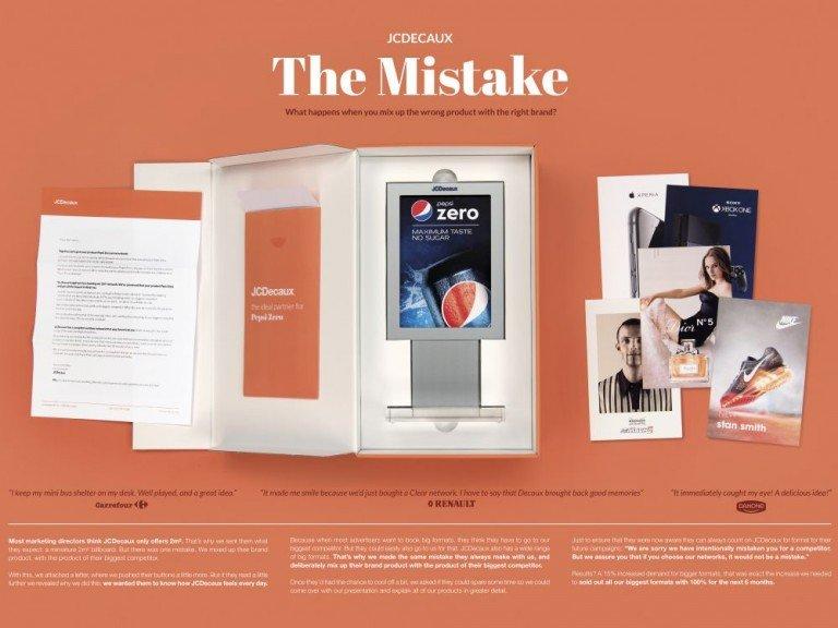 Falsches Produkt und richtige Marke - mit dieser Kombination erreichte die Kampagne ihr Ziel (Foto: BBDO Belgium)