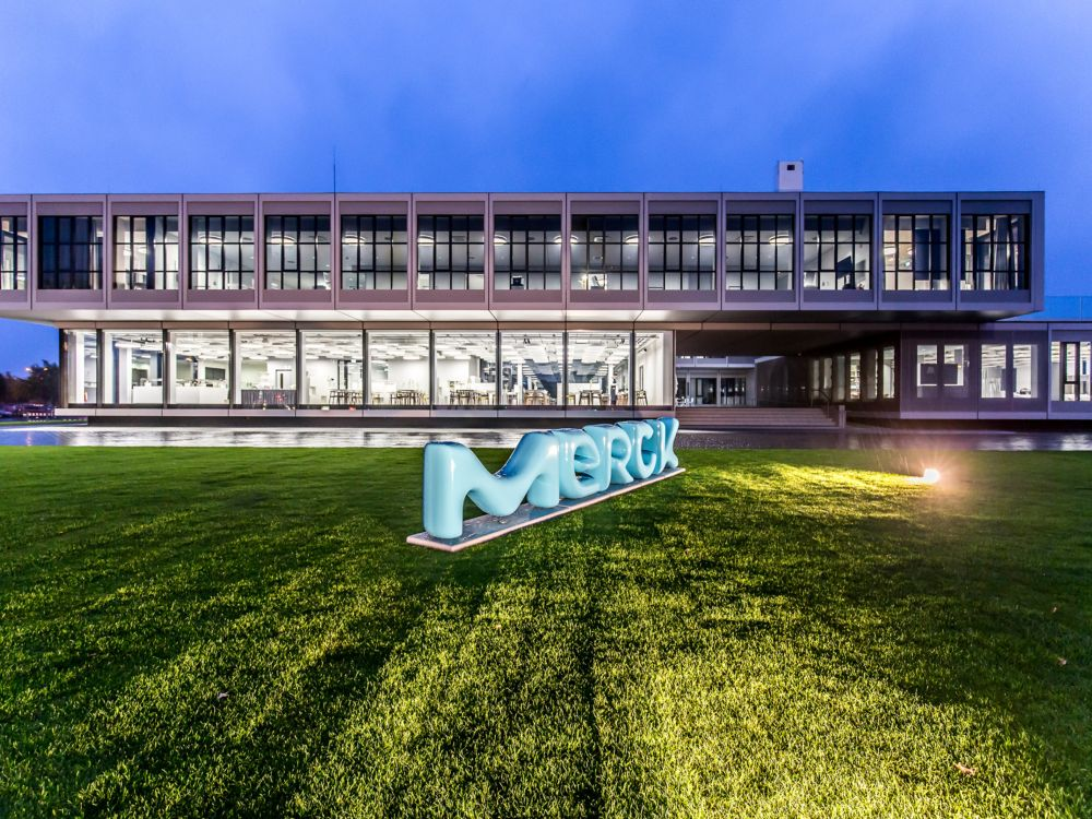 Innovationszentrum von Merck in Darmstadt - wie Smart Cities die LCD Industrie weiter pushen könnten, schildert Luc Yao (Foto: Merck KGaA)