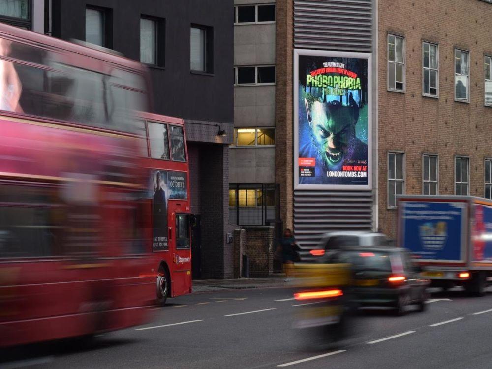 LED Screen von Kong Outdoor in Großbritannien (Foto: Kong Outdoor)