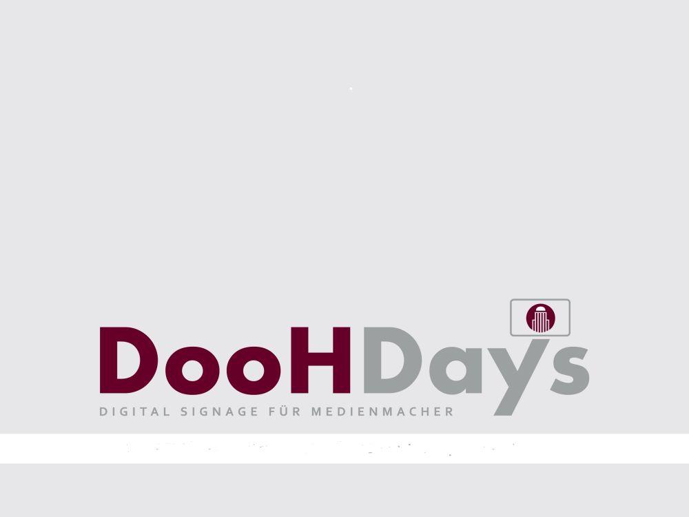 Logo der DooH-Days 2016 (Grafik: Madsack)