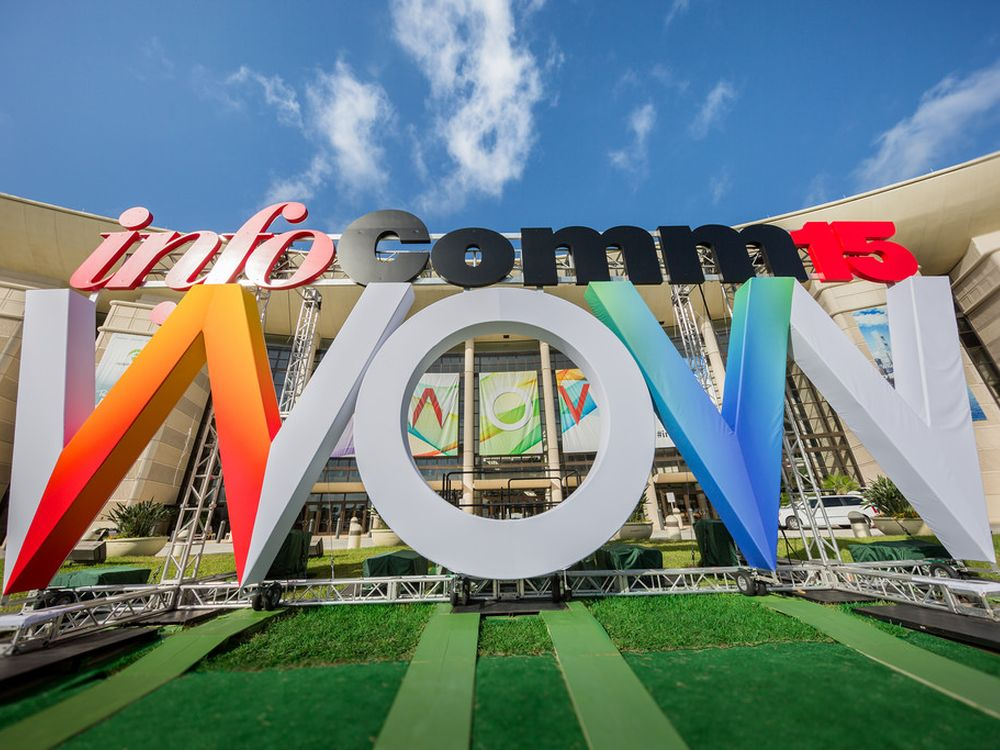 Logo der Vorjahres-Messe InfoComm 2015 (Foto: InfoComm International)