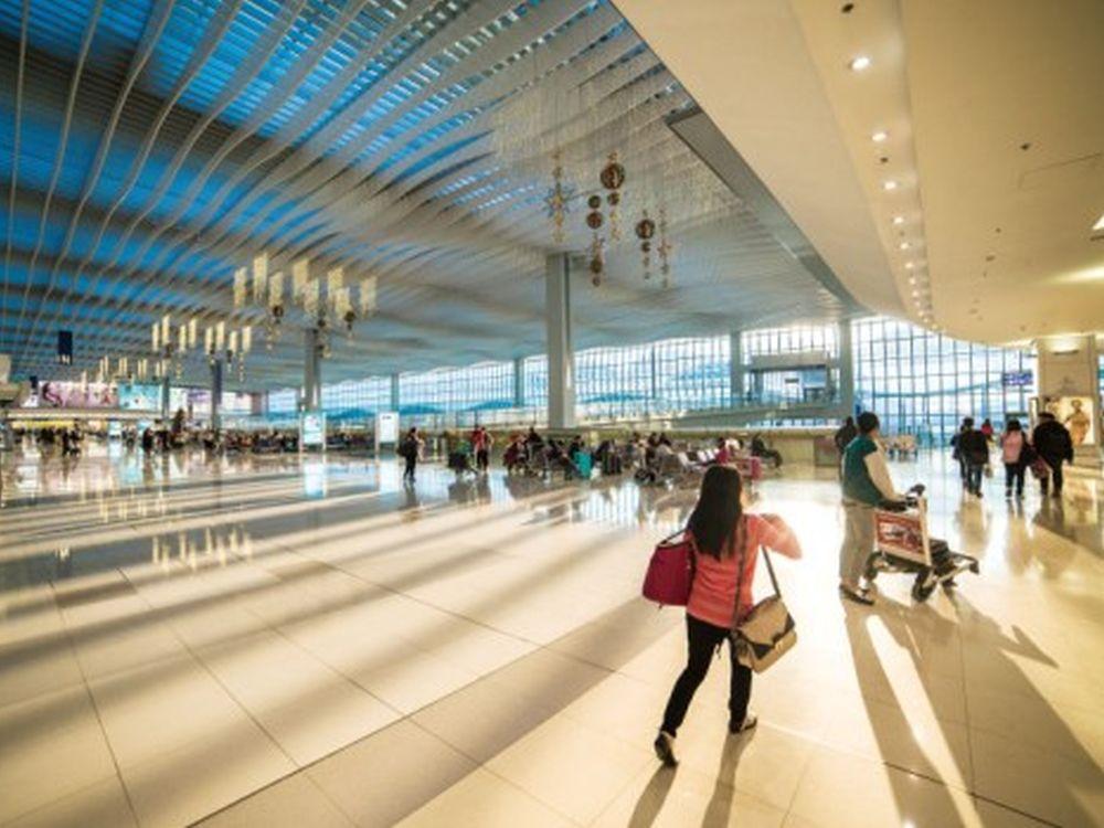 Passagiere im Hong Kong International Airport (Foto: Hong Kong International Airport)