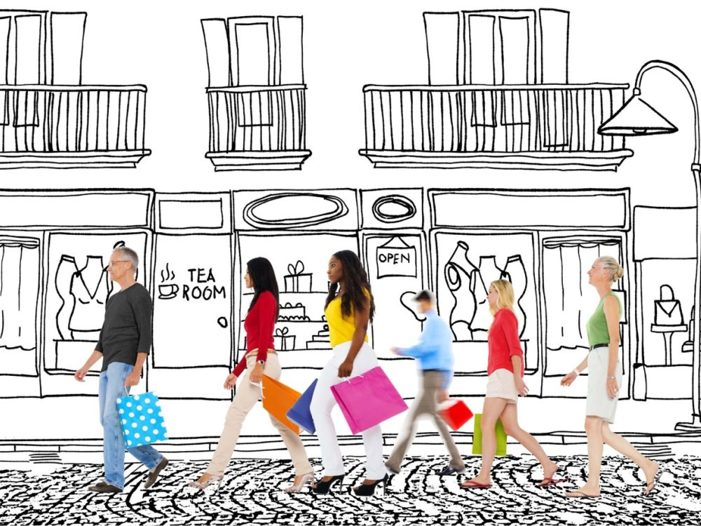 Retailer möchten gerne wissen, welches Publikum sie wo am besten erreichen (Grafik/ Foto: Vizualize)