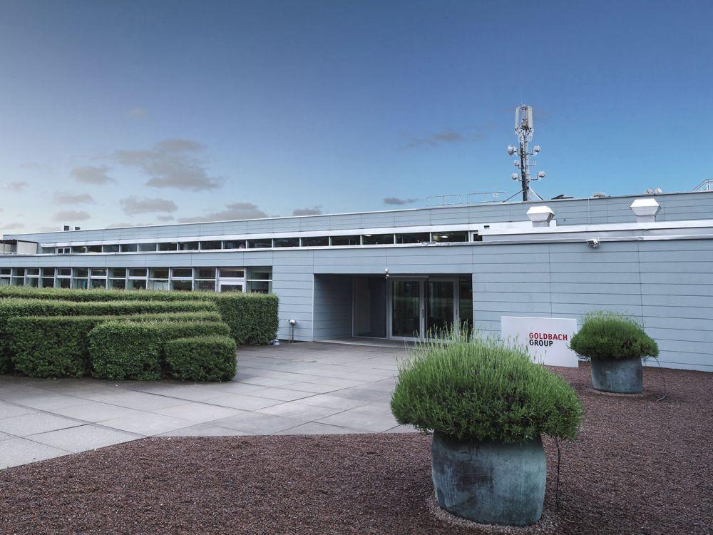 Unternehmenssitz von Goldbach im schweizerischen Küsnacht (Foto: Goldbach Group)
