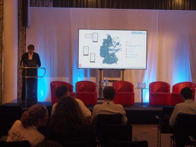 Andreas Noack von heinekingmedia stellte den Ansatz von DOOH.de vor (Foto: invidis)