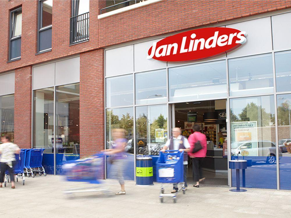 Eingang zu einem Jan Linders Supermarkt (Foto: Jan Linders)