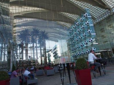 Letzter Blick auf das Hilton - hier war der DSS Europe gerne 10 Jahre lang zu Gast (Foto: invidis)