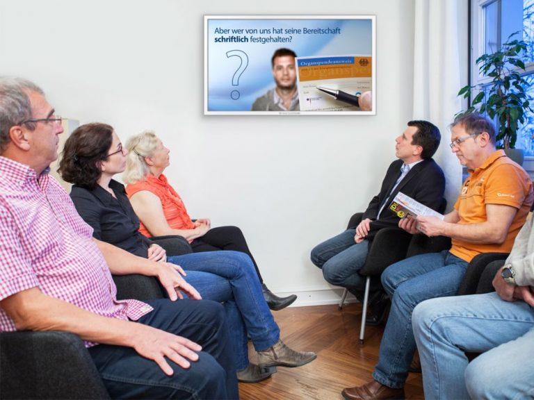 Mit einem neuen Film wirbt TV-Wartezimmer für mehr Organspender (Foto: TV-Wartezimmer)