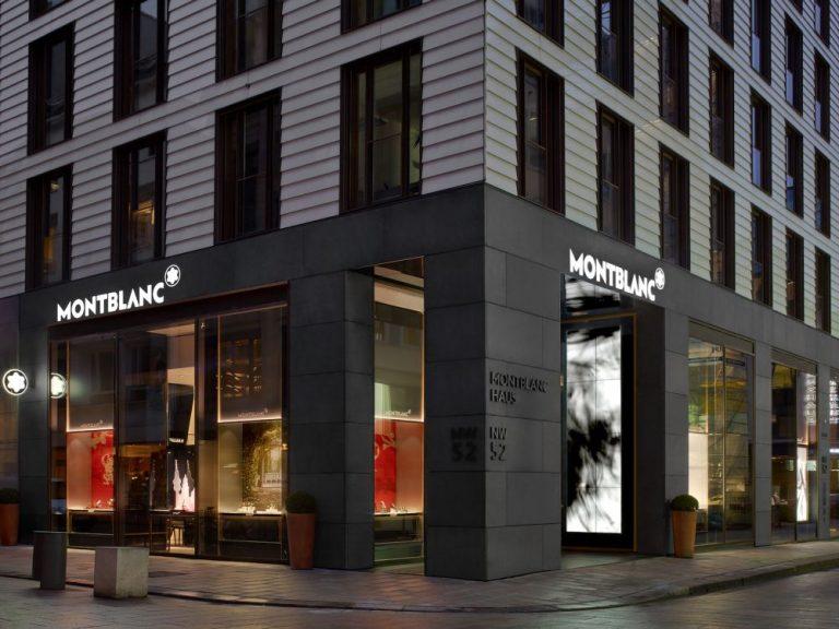Montblanc Flagship Store in Hamburg (Foto: Mood Media)