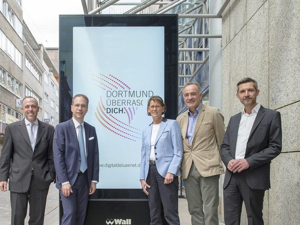 Netzwerk DDN mit DooH Screens in Dortmund gestartet (Foto: Wall AG)