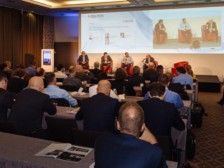Gut besuchte Panel Diskussion beim DSS Europe 2015 (Foto: Steffen Horak)