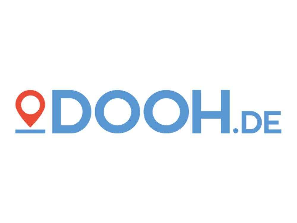 Live Buchungsplattform DOOH.DE (Logo: heinekingmedia)
