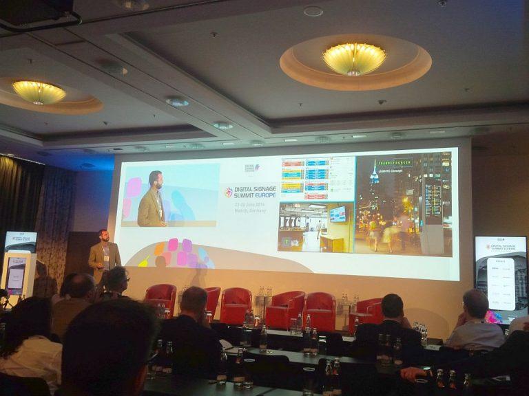 Ryan Croft von Transitscreen sprach über Smart Cities und Transportation (Foto: invidis)