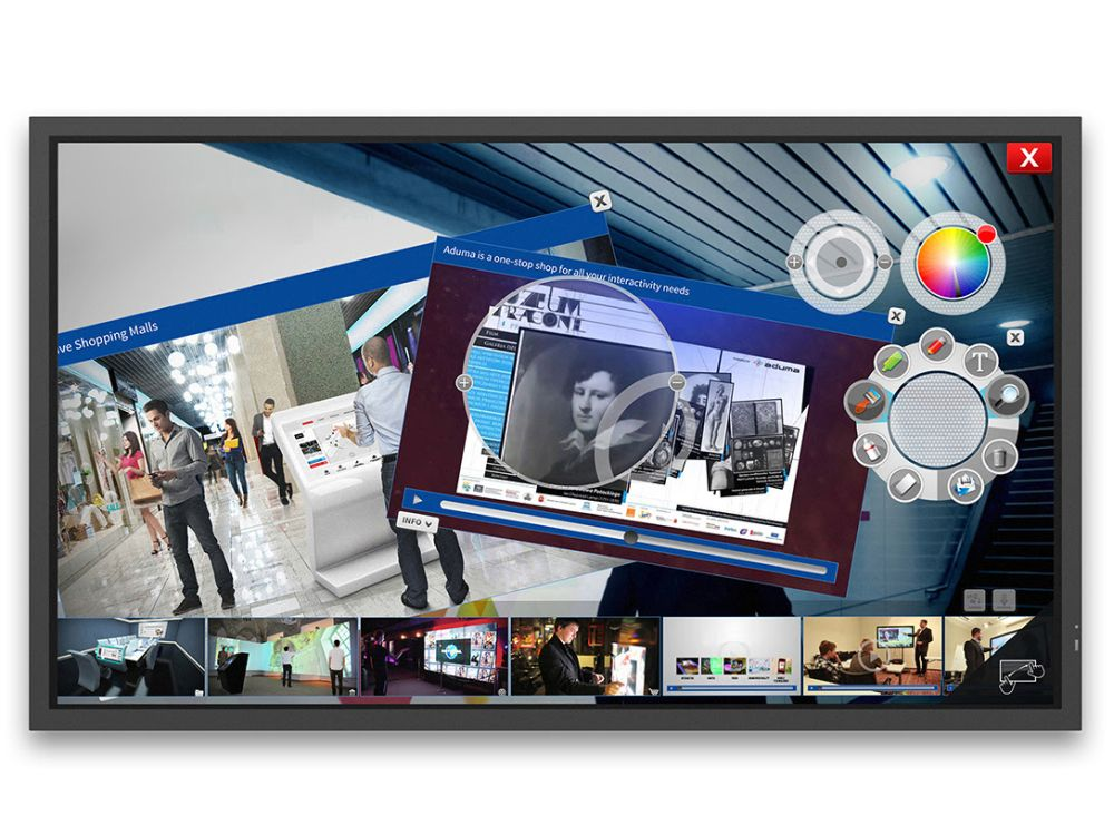 ShadowSense Multitouch Screen X981UHD SST (Foto: NEC)