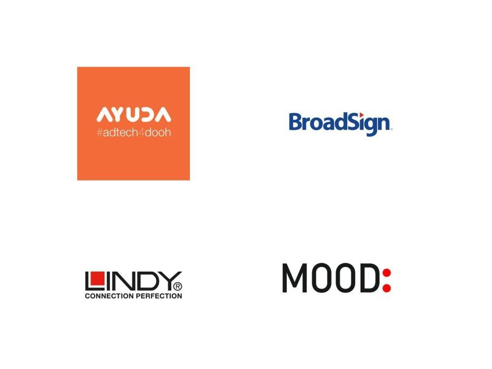 Sponsoren des DSS Europe 2016 (Logos: Unternehmen; Grafik: invidis)