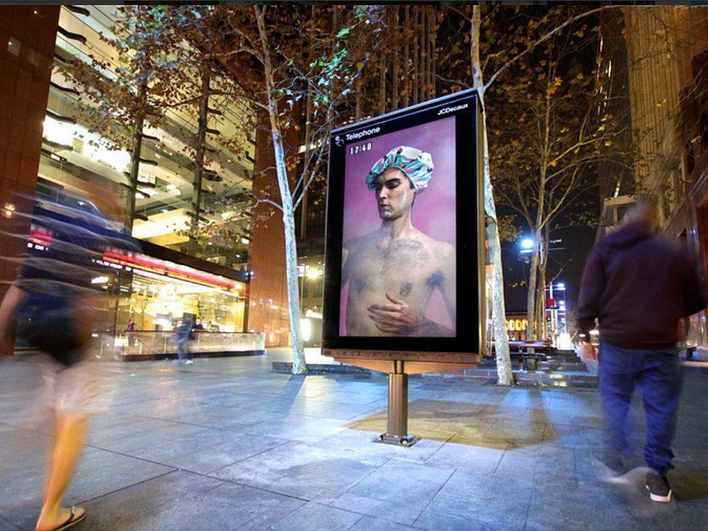 "UHD 84"" Screen des neuen Digital Citylight Netzwerks in Sydney (Foto: JCDecaux)"