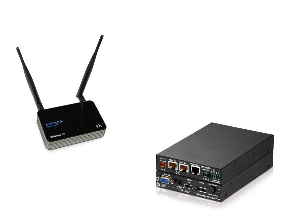 Teil des Portfolios - Wireless HDMI Extender CSW300 und Multiformat Transmitter LU-TPR-150CR (Fotos: PureLink)