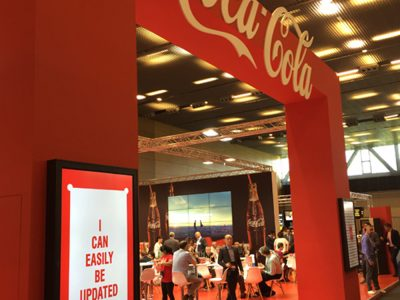 Coca Cola präsentierte modernes Kinosignage (Foto: Littlebit Technology AG)