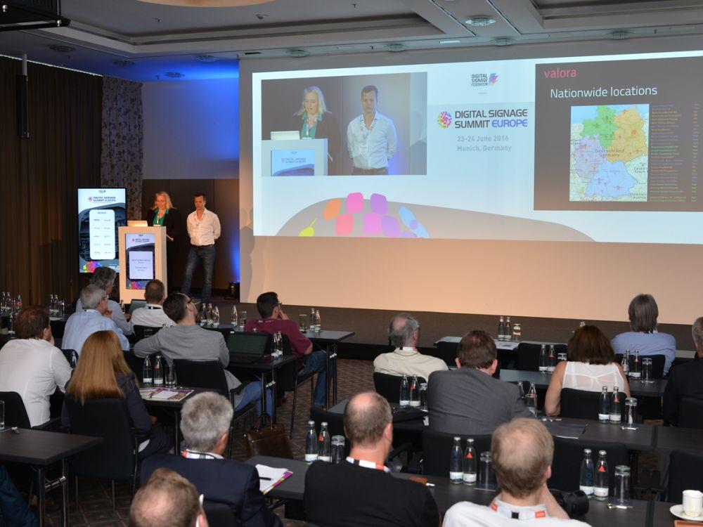 Das DS System von Valora stellten Adrienne Schmidthals und Thorsten Wien vor (Foto: Frank-Dietmar Böhm)