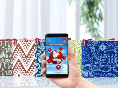 Zum Reiseset gibt es bei Emirates per App zusätzliche Unterhaltungsprogramme (Foto: Emirates)