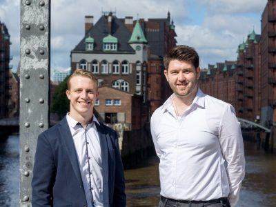 Ergänzen das Team - Marvin Stüdemann und Daniel Clasen (Foto: komma,tec redaction)