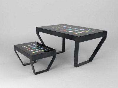 Kleiner und großer TableConnect als Tisch-Variante (Foto: TableConnect)