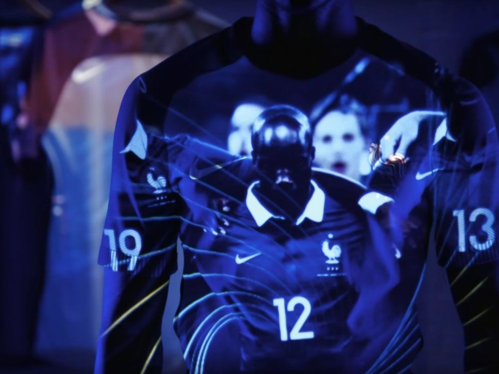 Les Bleus machten nicht nur auf dem Feld eine gute Figur (Foto: Stello Productions)