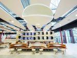 Lounge-Bereich im Frankfurter McD Flagship (Foto: McDonald's)