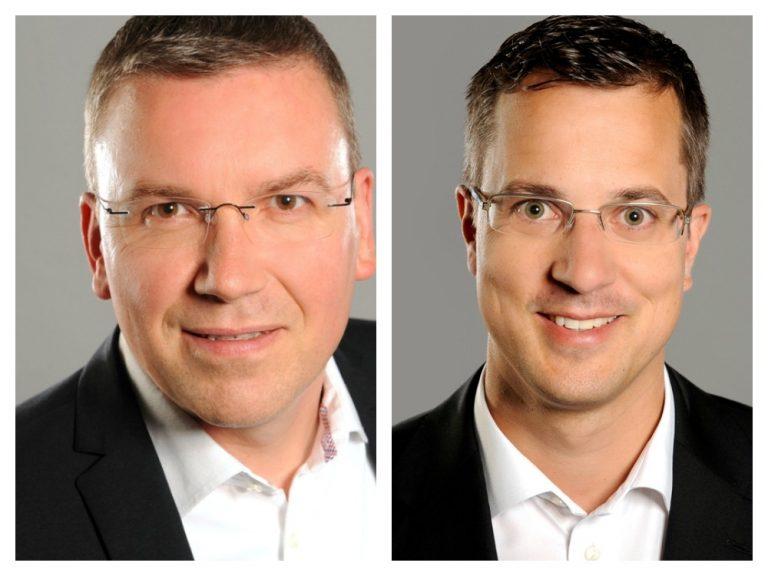 Das DACH-Team von ViewSonic mit neuer Aufstellung: Thomas Müller und Dominic Mein (Foto: ViewSonic)