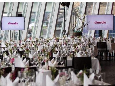 Jubiläum in feinem Ambiente: Der Geburtstag von dimedis fand im Kölner Schokoladenmuseum statt (Foto: dimedis)