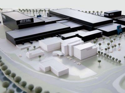 Ab 2018 wird Rittal sein neues Werk in Betrieb nehmen (Foto: Rittal)